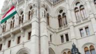 Budapest Hungarian Parliament Building Facade
