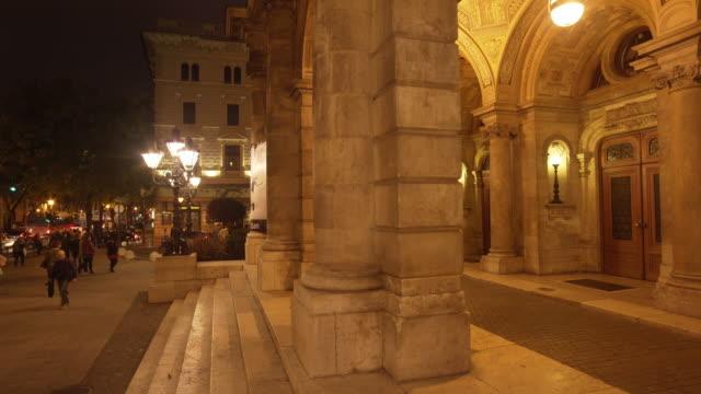 Budapest Hungarian State Opera House Entrance