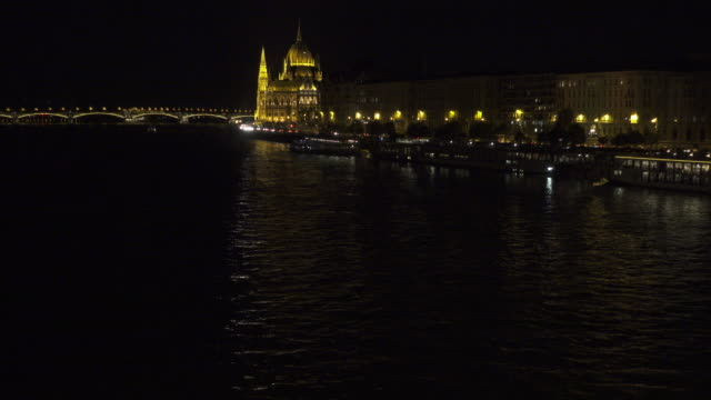 Budapest Parliament of Hungary at night