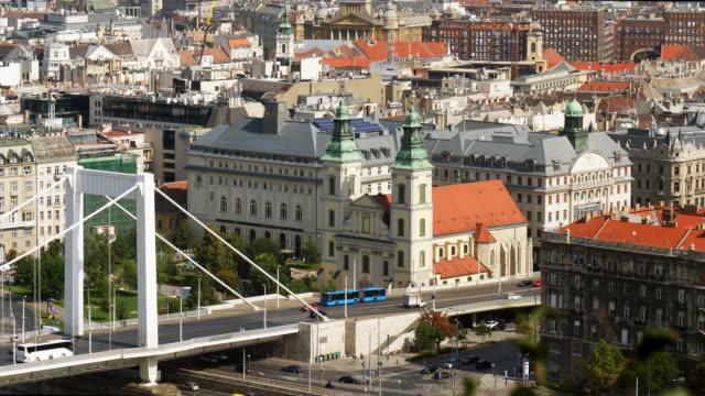 Budapest Skyline With Inner City Parish Church