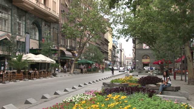 BudapestBeautiful city Street in Budapest Hungary