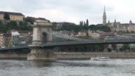 BudapestChain Bridge in Budapest Hungary