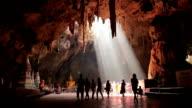 Buddha Bilder in Khao-Luang-Höhle, Thailand