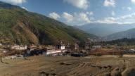 Buddhist monastery Tashichho Dzong in Thimpu, Bhutan, Asia