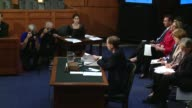 Budget Director Doug Elmendorf testifies to Super Commitee 1st Hearing of the Super Committee at Hart Senate Office Building on September 13 2011 in...