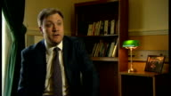 Ed Balls interview ENGLAND London INT Ed Balls MP interview SOT economy recovery not working / one rise in the personal allowance doesn't repair that...