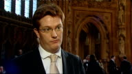 reaction interviews ENGLAND London Westminster INT Danny Alexander MP interview SOT Well this is a budget that set out a very strong plan for growth...