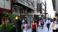 Buenos Aires Argentina Galerias Pacifico famous Mall for shopping and dining in city center walking shoppers