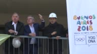 Buenos Aires prepares for an Olympic trial run with the 2018 Youth Games as President of the International Olympic Committee Thomas Bach says on...