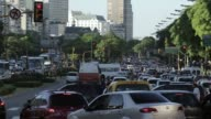 T/L Buenos Aires Traffic 9 de Julio Avenue