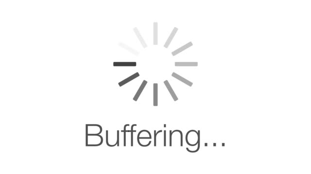 Buffering Loading Symbol - loop. 4K