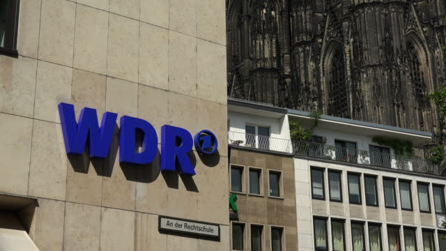 WDR Building at Wallrafplatz, Cologne, North Rhine Westphalia, Germany
