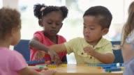 Building Blocks Together in Preschool