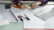 Building Design on Blueprint