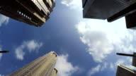 Building - look up at the sky -Shinjyuku-4K-