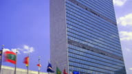 UN Building. Zoom Out