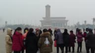 Buildings are shrouded in smog in the in Beijing on January 07 2017 Heavy smog continues to affect vast areas of China with visibility said to be...