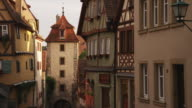 MS PAN Buildings in old town / Rothenburg ob der Tauber, Germany