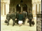 House of Lords Judgement NAO ITN ENGLAND London People along into High Court
