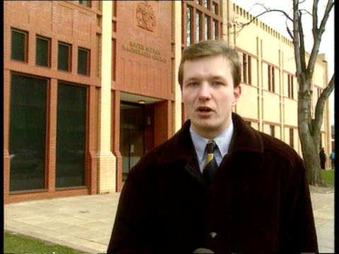 Second court appearance ITN ENGLAND Mersyside Bootle Munro i/c SOF CMS Policeman along talking to crowdCMS Members of crowd remonstrating...