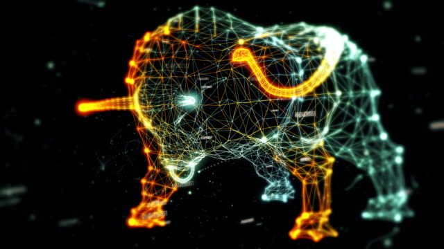 Bull generated from particles - with numbers