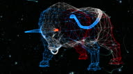Bull generated from particles - without numbers