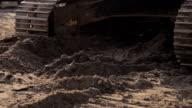 Bulldozer tracks