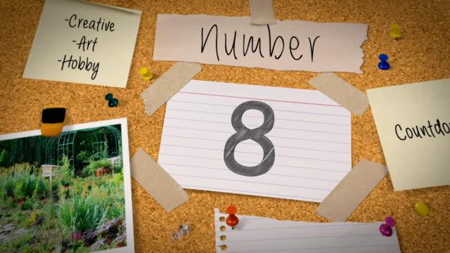 Bulletin Board Top Ten Countdown