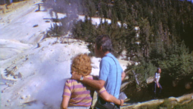 Bumpass Hell Trail / Family Hiking / Shots of Steam and Panorama / Joking Around About Smell / Waving Goodbye / Lassen Volcanic National Park on...