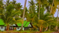 Bungalow on the tropical beach