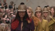 Burberry Prorsum London Fashion Week Spring/Summer 2012 at Kensington Gardens on September 19 2011 in London England