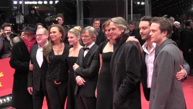 Burghart Klaussner Melanie Laurent Bille August Martina Gedeck August Diehl and Jeremy Irons at the premiere of 'Night Train to Lisbon' at the 63rd...