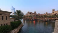 Burj Al Arab and Madinat Hotel time lapse, Dubai