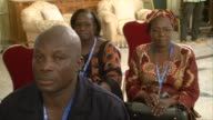 Burkina Faso president Blaise Compaore meets with relatives of some crash victims in Ouagadougou and announces that he has opened an official inquiry...