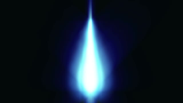 Brenner Flamme Hintergrund Loop