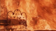 MS, Burning bedroom