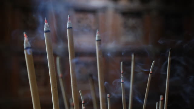 CU Burning incense sticks / Singapore