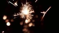 4K: Burning sparkler