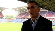 Burnley prepare for first season in Premier League ENGLAND Lancashire Burnley Turf Moor EXT Coyle interview SOT Need to concentrate on first game of...
