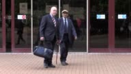 A bus driver leaves Coventry Magistrates' Court where he appeared accused of killing a pedestrian and an sevenyearold passenger in a city centre...