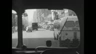 Bus leaves New York