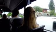 Bus rides around the city.