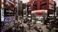 Busan, The customers walking in the shopping street, Busan, South Korea