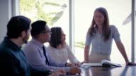 Business Brainstorming Meeting