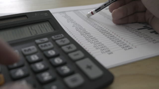 Business calculator and financial statements