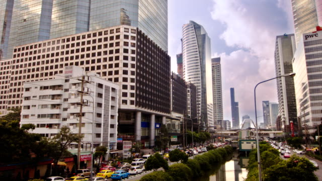 Business district Bangkok