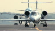 Business Jet Taxiing