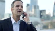CU Business Man makes a Business call
