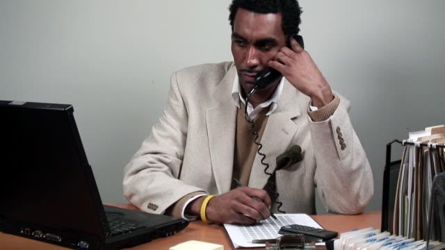 Business Man Talking