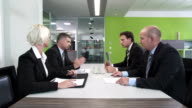 HD: Business Negotiations At Meeting